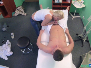 Kathy Anderson - Jiggish MILF Massagist Pokes Medic - Mar 29, 2017
