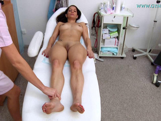 Joceline -22 years lady obgyn examination