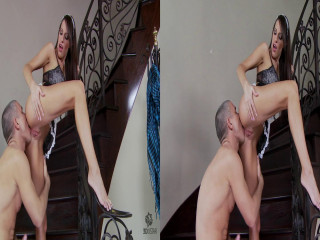 Tiptoed and Tongue-Fucked 3D