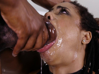 Kira Noir - Ebony Jaws Vs Monster Cock FullHD 1080p