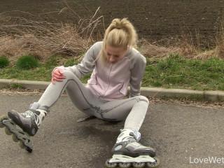 Roller skate challenge