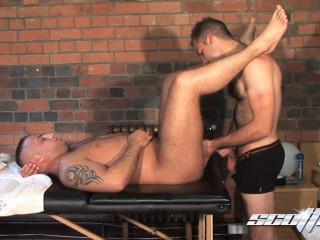 Scottxxx - Massage, Worship, Fuck! - Fraser Jacs & Billy