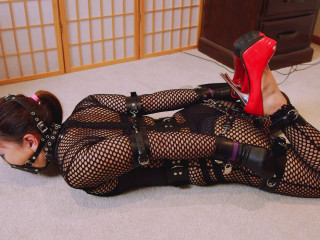 RestrictedSenses Part RS-318 - Mina is locked In Her New Cuffs 1080p