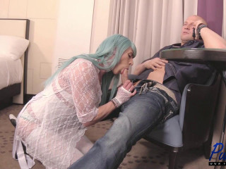 Submissive CD Pleases Her Man