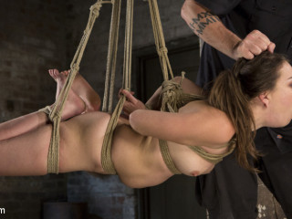 Pain Pixie Endures in Exhausting Bondage, is Tormented, and then Made to Jizm