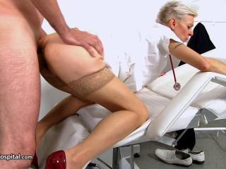 sex at sperm bank clinic with Czech Zita