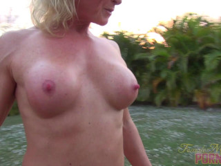 Mandy Foxx - She Likes Her Toy. You'll Like Watching Her Play With It
