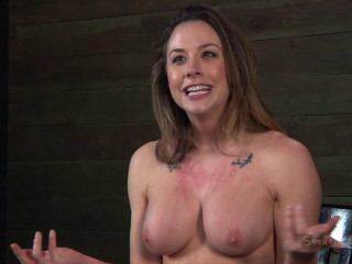 Chanel Preston manhandled, Brutally deep throated hard