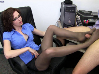 The New Boss -Pantyhose Domination
