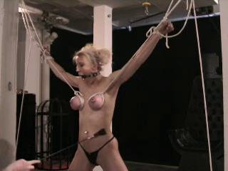 Torment of gal breast, used a variety of torment