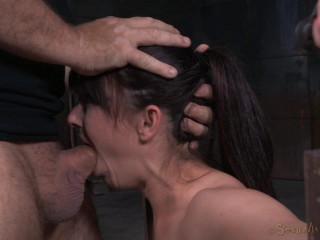 Rough Hookup And Violent Deepthroat