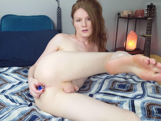 Hands Free Cum and Dildo Play - TS Melody Lane - Full HD 1080p