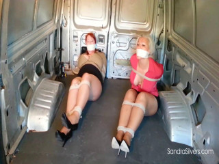A Pair of Buxom  Secretaries Taken for a Ride in the Van!