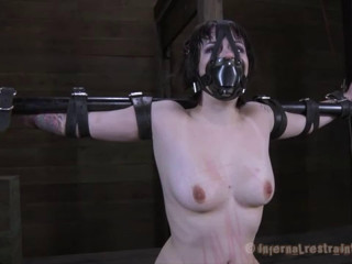 Hard bondage, spanking, strappado and torture for hot girl part 2