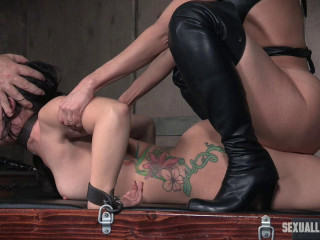 Mandy Muse and her astounding booty gets manhandled with fuck-stick