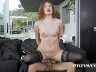The Redhead Maid Hungry For Cum