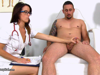 Foxy uniform  Beba gets a huge cumshot