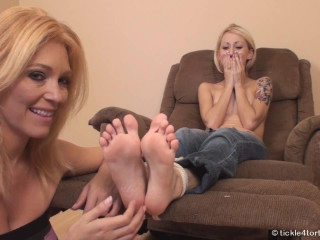 TickleTorture - Tickling Rene's Feet