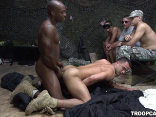 Military Gangbang Party