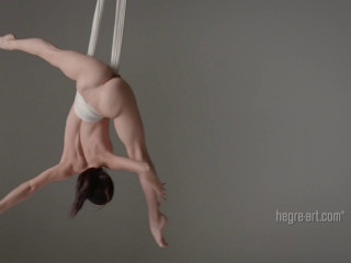 Magdalena - Nude Anti Gravity Yoga