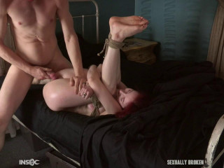 Penny Lay loses her v-card in restrain bondage