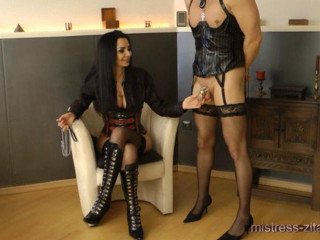 Mistress Zita - Sissy Slut Instructing