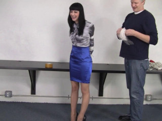 Cock-squeezing Skirt And Bondage