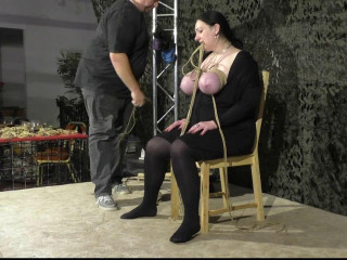 More Public Breast Torture for Titslave Cat - HD 720p