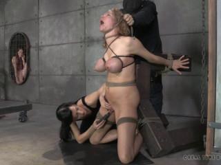 Broken Blonde Slave