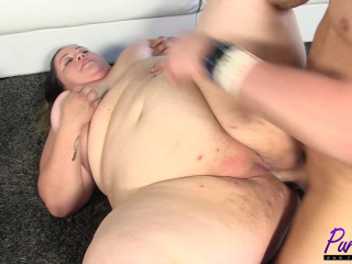 Brand fresh Ssbbw does her first-ever hardcore