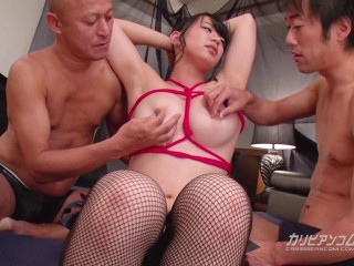 Gangbang With Meaty Big-chested Dynamite-Girl