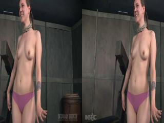3D - Sierra Cirque Face Torn up In Extraordinary Bondage!