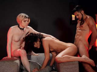 Hot 3some Dante Colle, Alisia Rae & Ella Hollywood 720p