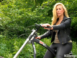 Paige Turnah in the sequence Creampie The Girly Rider
