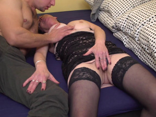 Elana S - Insatiable mature girl drilling and throating FullHD 1080p