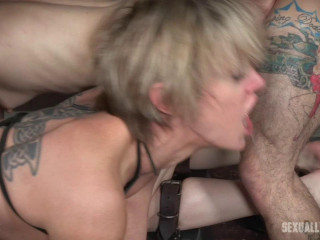 Bonnie Day & Dee Williams - Both femmes are harshly ravaged to the ground!