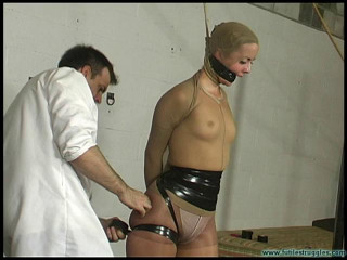 Panty Hose and black tape Encasement - Part 1