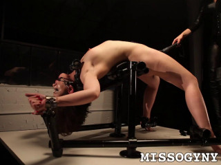 Sarah Shevon Tied Up, Punished, and made to Cum