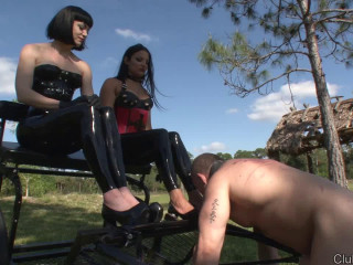 Michelle Lacy & Jean Bardot - A Tart for Female domination