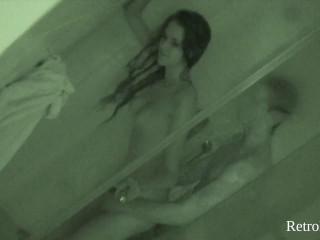 Amanda Bathroom spycam