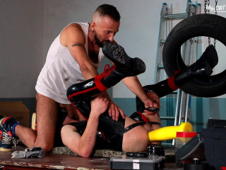 Fisted Rubber Gimp - Part 2