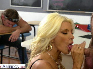 Brittany Andrews Gets It On While the Class Bully Watches