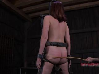 Bondage, strappado, spanking and torture for naked slut (part1)