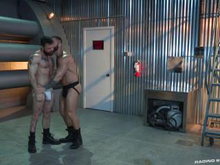 Raw Power, scene 2- Eddy Ceetee, Sergeant Miles