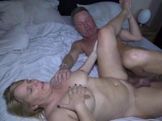 Sweet Susi - German blondie gets cum on her big tits in hot mature fuck (2017)