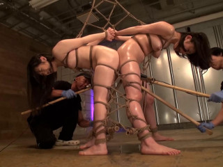 Gonzo BDSM Soiree With Drizzling