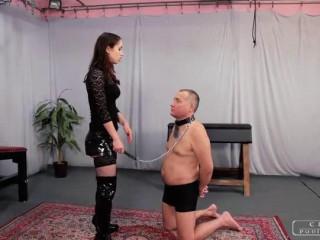 Cruel Punishments - Mistress Nina - Slow, huge slaps