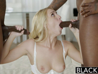 My Gf is Addicted to BBC - Cadence Lux, Flash Chocolate-colored & Rob Piper