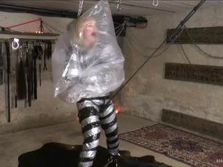 Now She Gets Blackmailed, Tied Up And Punished....