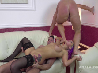 Super-naughty Fisa Crystal Gets Deep Assfucking & Very first Double penetration With 2 Knobs